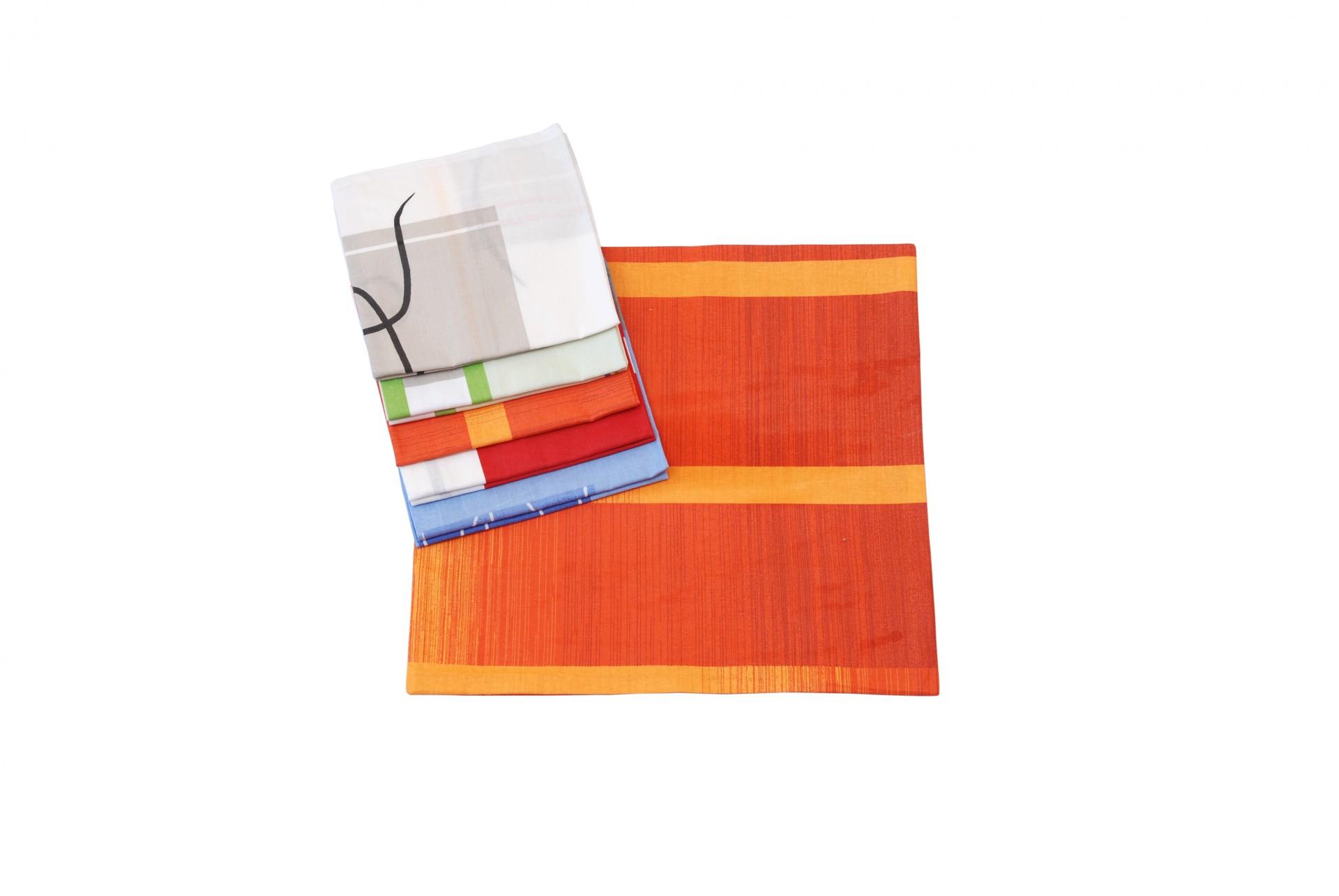 MIX povlaků bavlna 40x40cm balení 10ks