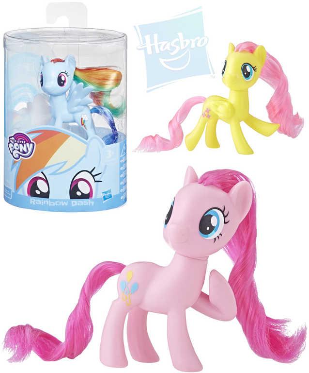 HASBRO MLP My Little Pony základní koník 7,5cm dlouhá hříva různé druhy plast