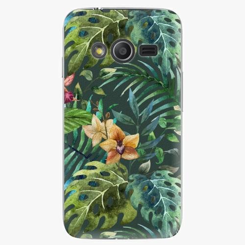 Plastový kryt iSaprio - Tropical Green 02 - Samsung Galaxy Trend 2 Lite