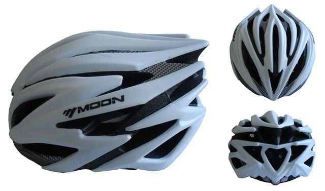Cyklistická helma velikost L - stříbrná