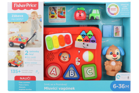Fisher Price Mluvící vagonek CZ GHV12 TV 1.10.-31.12.2019