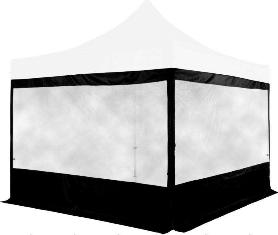 Sada 2 bočních stěn na stany INSTENT PRO 3 x 3 m - černá