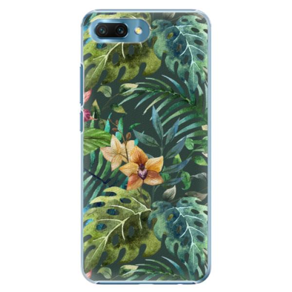 Plastové pouzdro iSaprio - Tropical Green 02 - Huawei Honor 10