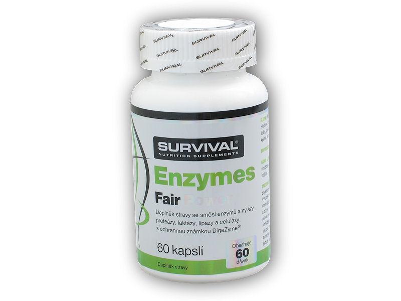Enzymes Fair Power 60 kapslí