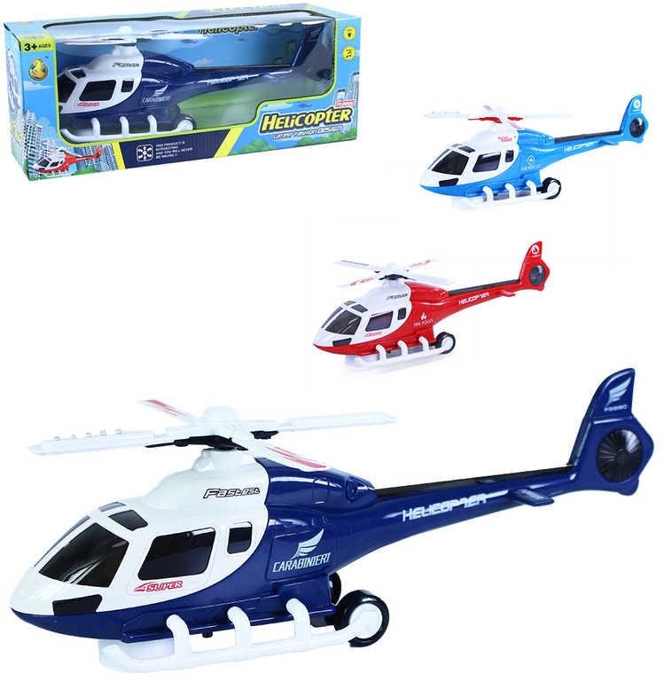 Helikoptéra záchranáři s pohybem narážecí na baterie Světlo Zvuk různé barvy