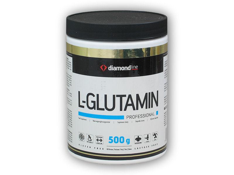 Diamond line L-Glutamin profesional 500g