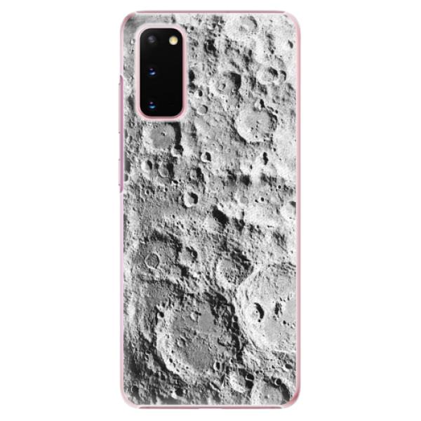 Plastové pouzdro iSaprio - Moon Surface - Samsung Galaxy S20