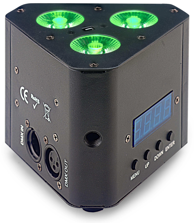 Stagg SLI-TRUSS34-2, Uplight reflektor 3x 4W QCL LED