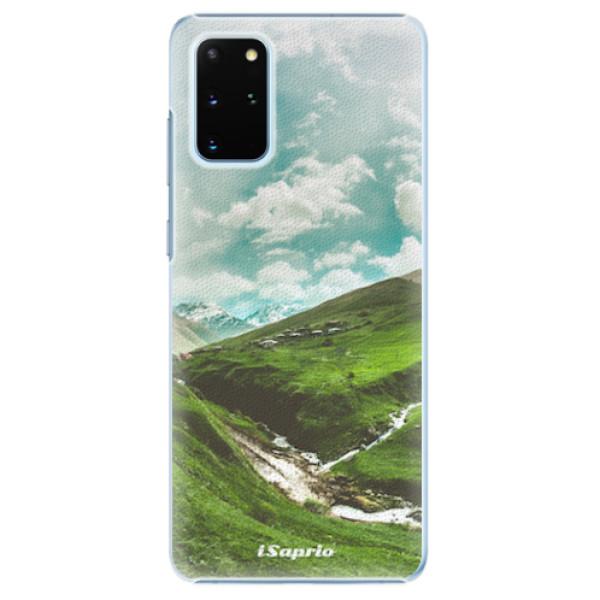 Plastové pouzdro iSaprio - Green Valley - Samsung Galaxy S20+