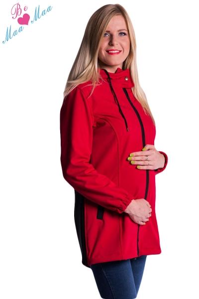 be-maamaa-tehotenska-softshellova-bunda-kabatek-cervena-l-40