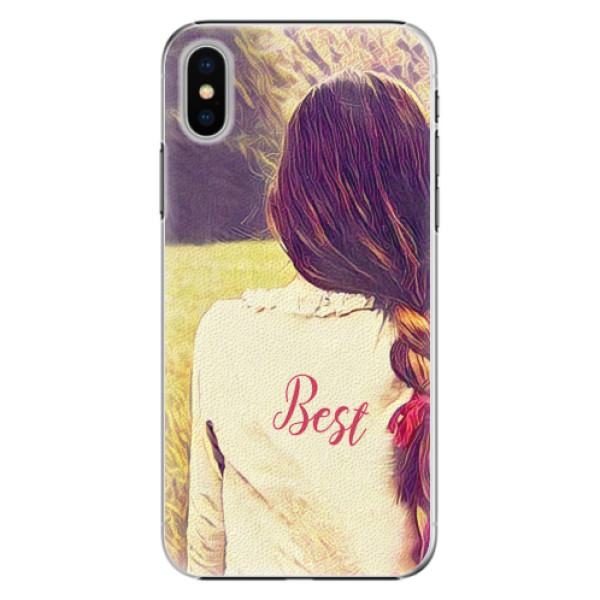 Plastové pouzdro iSaprio - BF Best - iPhone X
