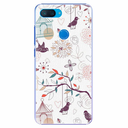 Plastový kryt iSaprio - Birds - Xiaomi Mi 8 Lite