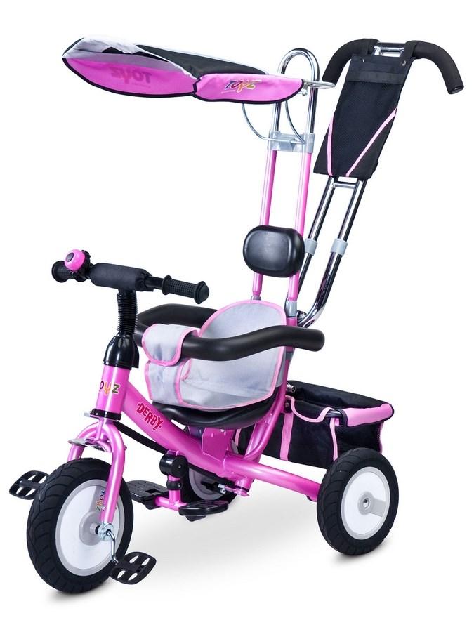 Dětská tříkolka Toyz Derby - pink - růžová