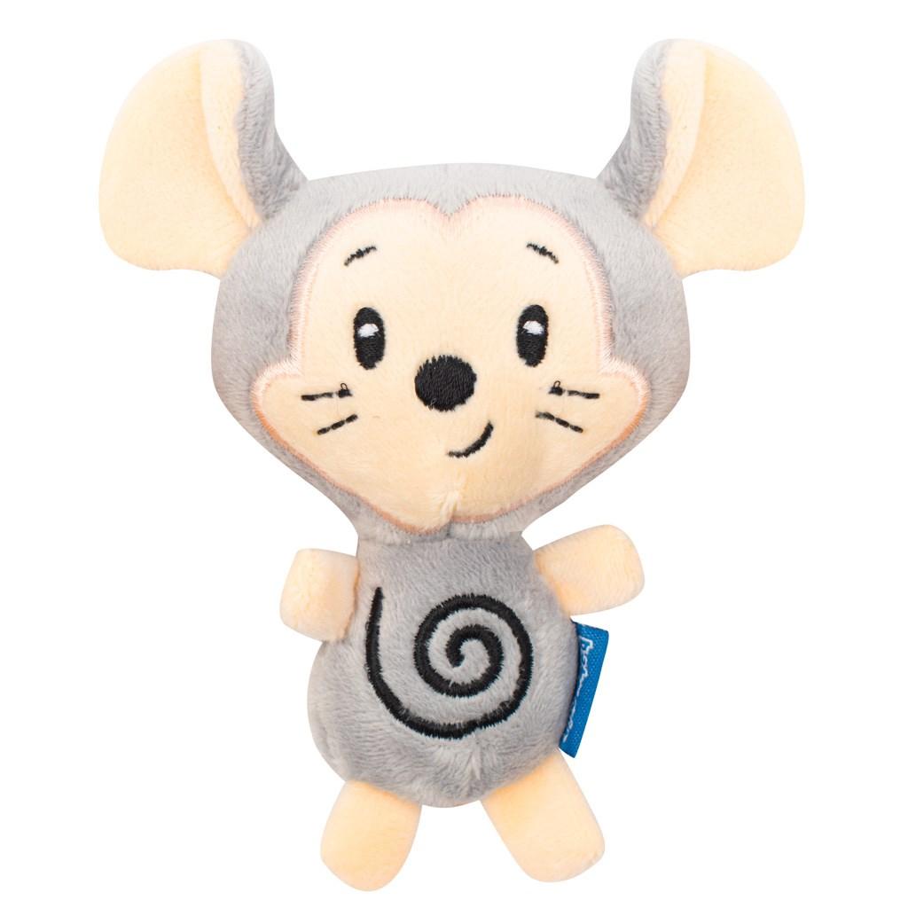 Dětské plyšové chrastítko do kočárku Baby Mix myš a sova - dle obrázku