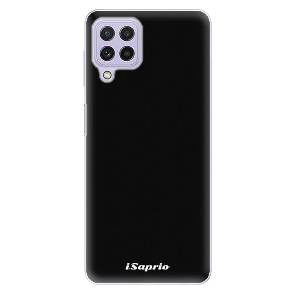 Odolné silikonové pouzdro iSaprio - 4Pure - černý - Samsung Galaxy A22