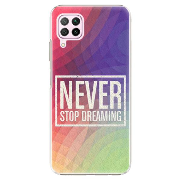 Plastové pouzdro iSaprio - Dreaming - Huawei P40 Lite