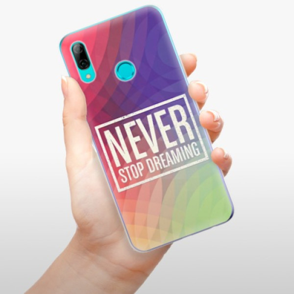 Odolné silikonové pouzdro iSaprio - Dreaming - Huawei P Smart 2019