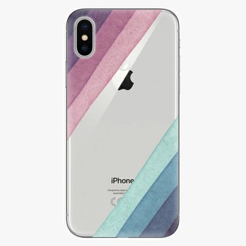 Plastový kryt iSaprio - Glitter Stripes 01 - iPhone X