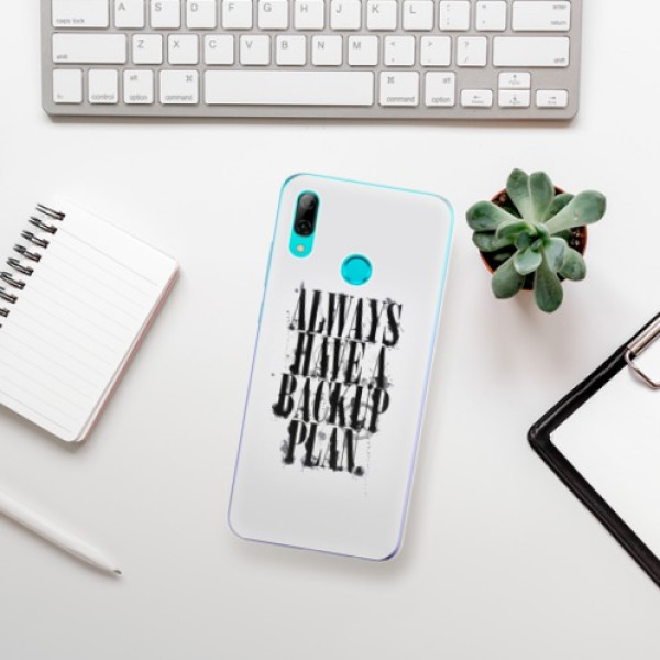Odolné silikonové pouzdro iSaprio - Backup Plan - Huawei P Smart 2019