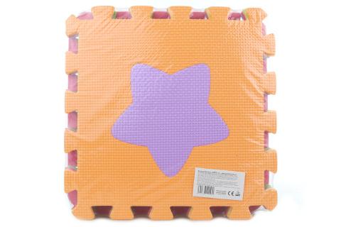 Pěnové puzzle 9 ks tvary