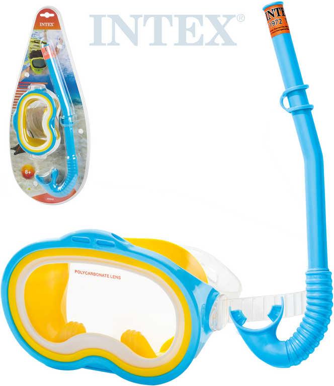 INTEX Brýle + šnorchl sada na potápění do vody 55942