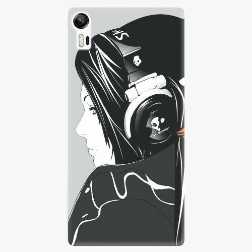 Plastový kryt iSaprio - Headphones - Lenovo Vibe Shot