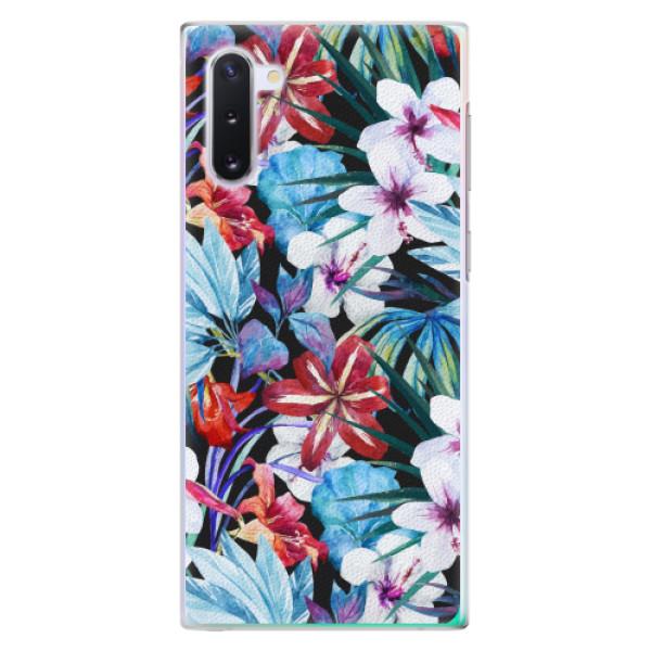 Plastové pouzdro iSaprio - Tropical Flowers 05 - Samsung Galaxy Note 10