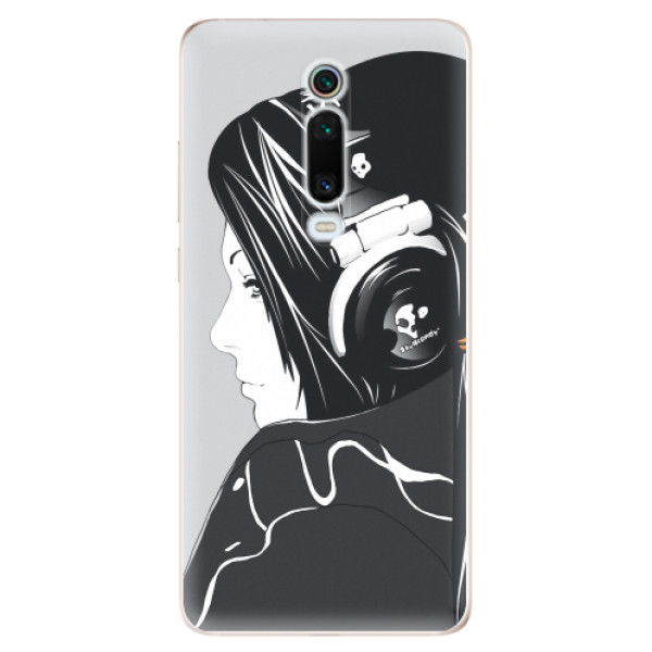 Odolné silikonové pouzdro iSaprio - Headphones - Xiaomi Mi 9T Pro