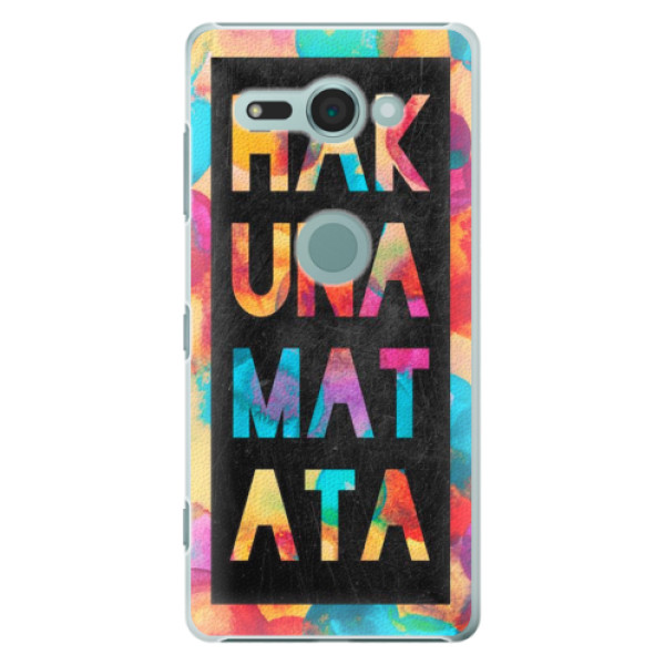 Plastové pouzdro iSaprio - Hakuna Matata 01 - Sony Xperia XZ2 Compact