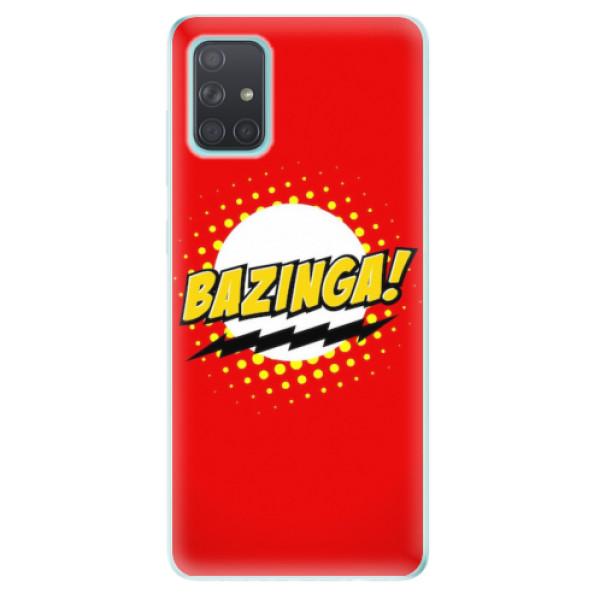 Odolné silikonové pouzdro iSaprio - Bazinga 01 - Samsung Galaxy A71