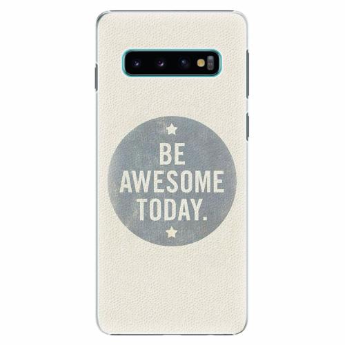 Plastový kryt iSaprio - Awesome 02 - Samsung Galaxy S10