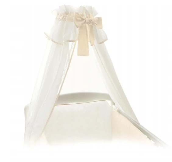 Ceba Baby Nebesa nad postýlku 160 x 270 cm - bílá/krémová/béžová