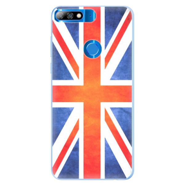 Silikonové pouzdro iSaprio - UK Flag - Huawei Y7 Prime 2018