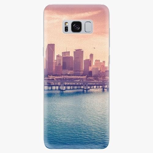 Silikonové pouzdro iSaprio - Morning in a City - Samsung Galaxy S8