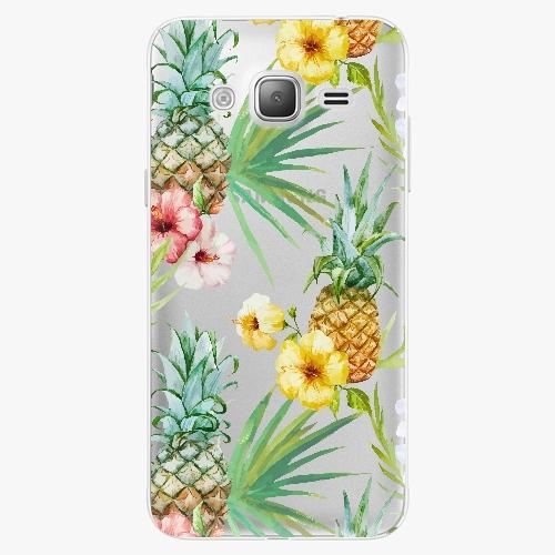 Plastový kryt iSaprio - Pineapple Pattern 02 - Samsung Galaxy J3 2016