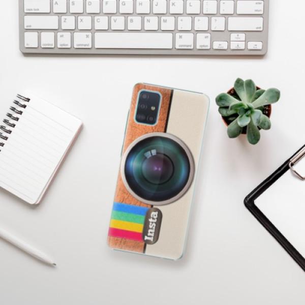 Plastové pouzdro iSaprio - Insta - Samsung Galaxy A51