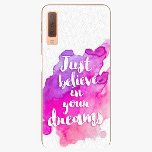 Plastový kryt iSaprio - Believe - Samsung Galaxy A7 (2018)