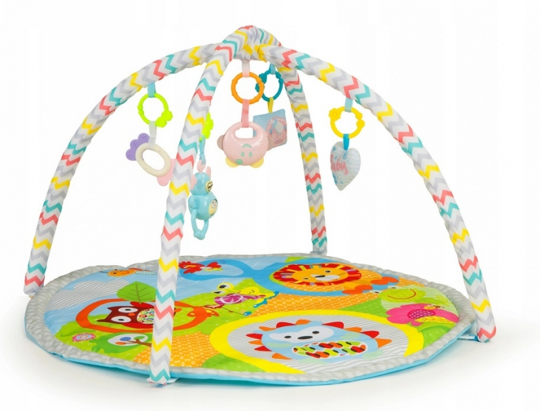 Eco Toys Vzdělávací hrací podložka Ježek