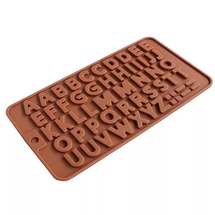 Silikonová forma na čokoládu - písmena