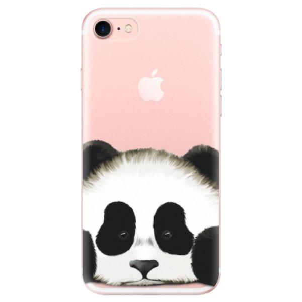 Odolné silikonové pouzdro iSaprio - Sad Panda - iPhone 7