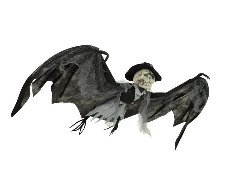 Halloweenský netopýr s buřinkou