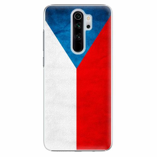 Plastový kryt iSaprio - Czech Flag - Xiaomi Redmi Note 8 Pro