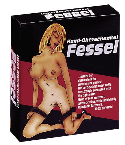 Pouta pro nohy a ruce - Fessel Hand