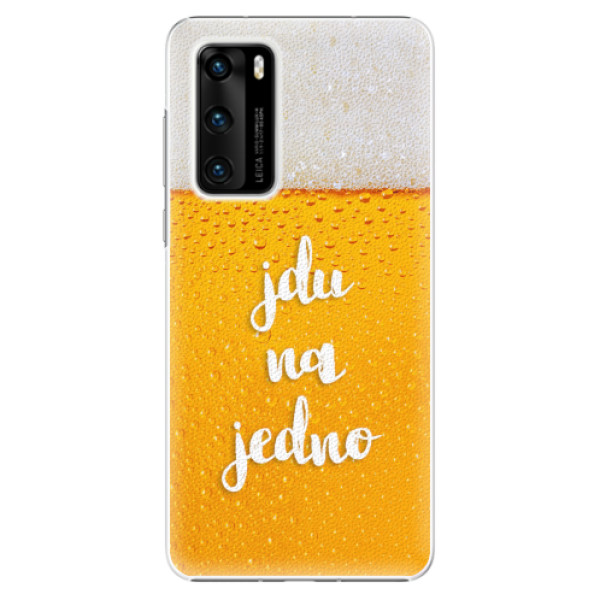 Plastové pouzdro iSaprio - Jdu na jedno - Huawei P40