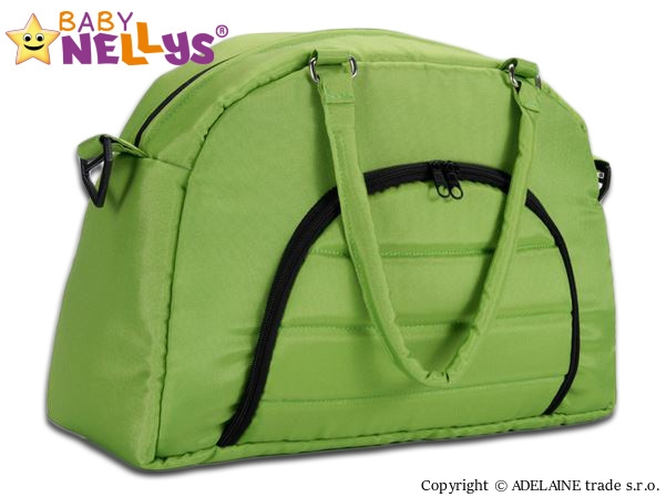 taska-na-kocarek-baby-nellys-adela-lux-zelena
