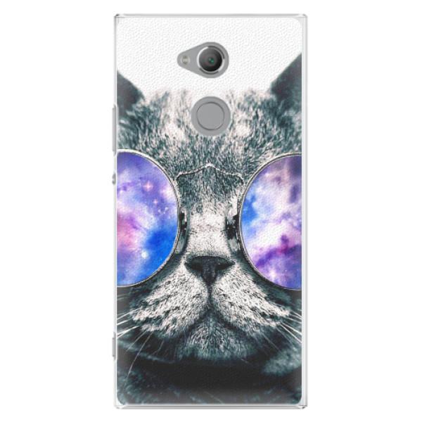 Plastové pouzdro iSaprio - Galaxy Cat - Sony Xperia XA2 Ultra