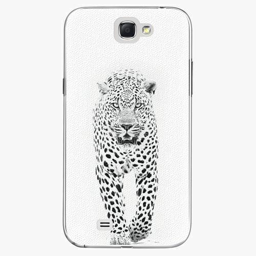 Plastový kryt iSaprio - White Jaguar - Samsung Galaxy Note 2