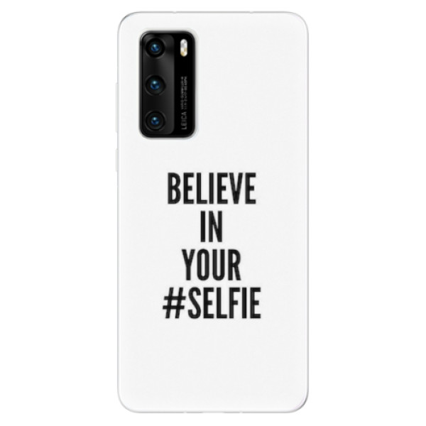 Odolné silikonové pouzdro iSaprio - Selfie - Huawei P40