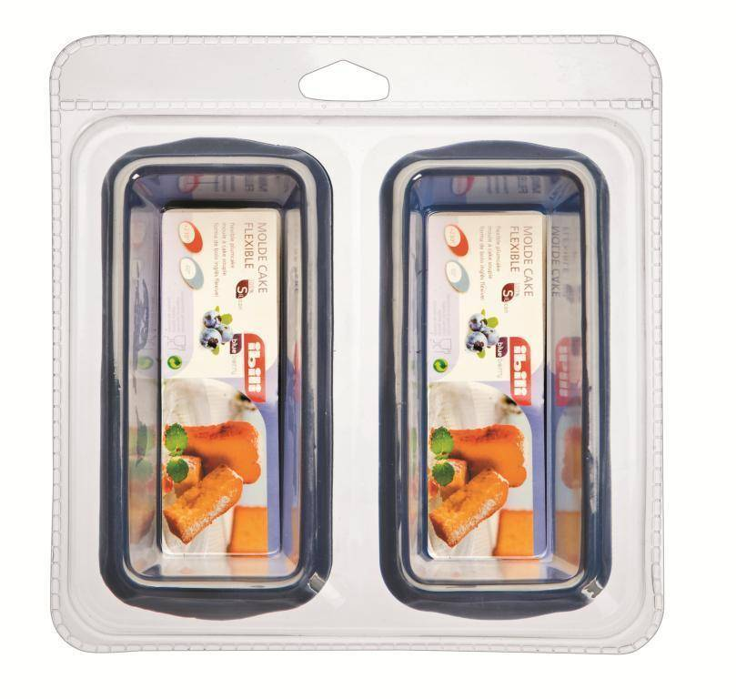 Silikonové formy na pečení set – 2ks