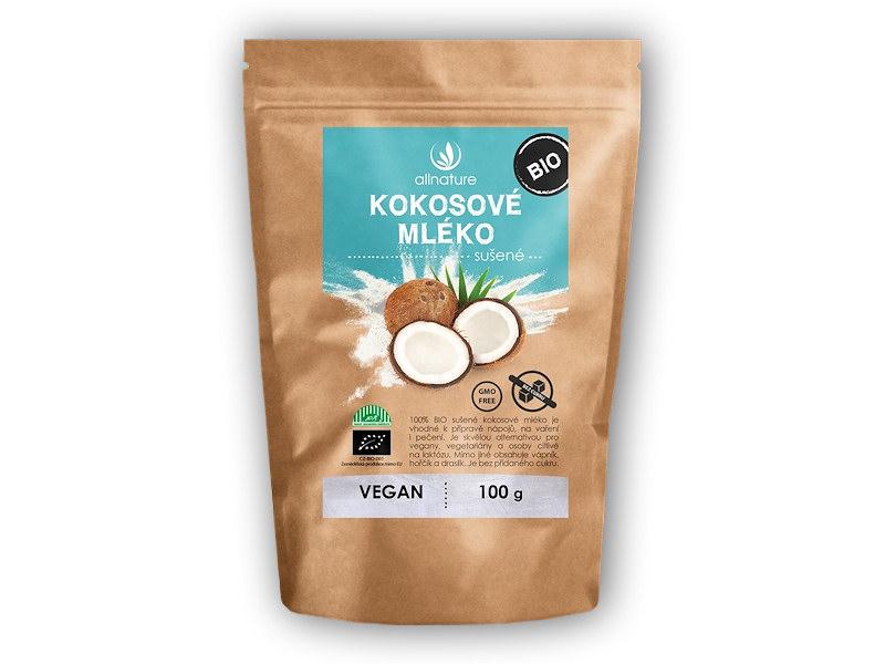 Allnature BIO Kokosové <b>mléko</b> sušené 100g